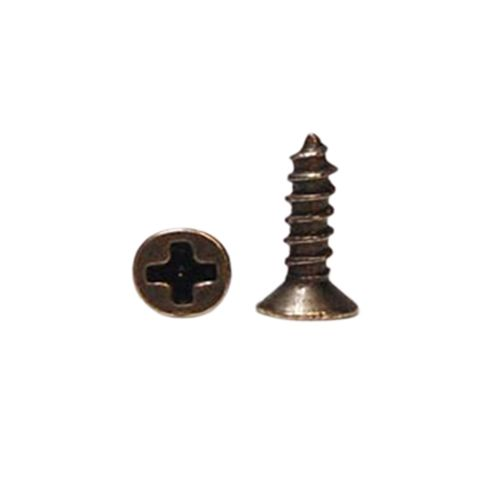 ШКМ12 Шуруп, бронза.упак 30 шт.9 мм
