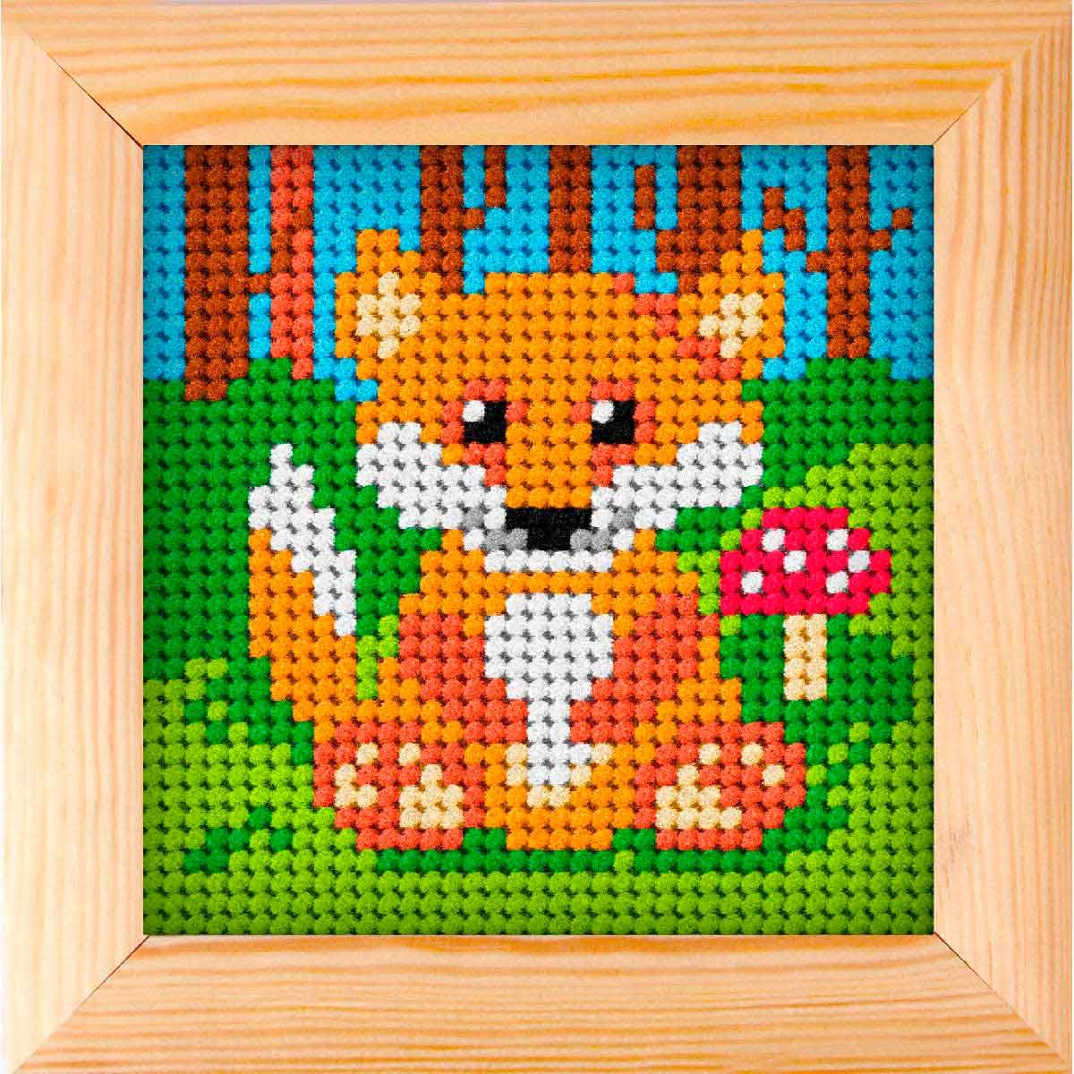 6718 ORCHIDEA Набор для вышивания 11х11 см