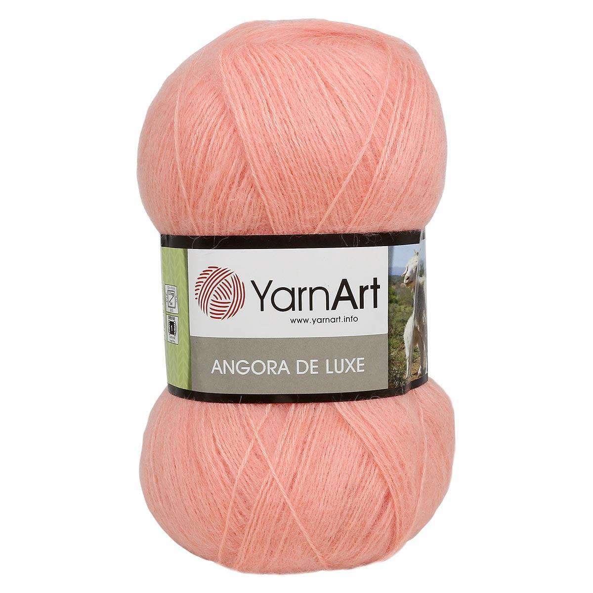 Пряжа YarnArt 'Angora de Lux' 100гр. 520м (70%мохер, 30%акрил)