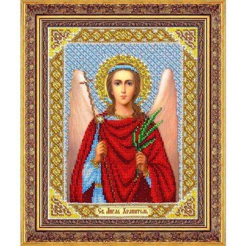 Б1015 Набор для вышивания бисером 'Паутинка' 'Ангел Хранитель', 25*20 см
