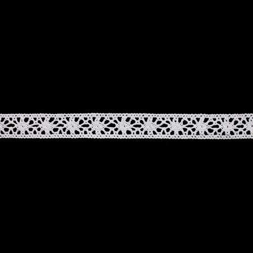 50-7241/01 Тесьма вязаная ажур х/б 15мм* двухстор.