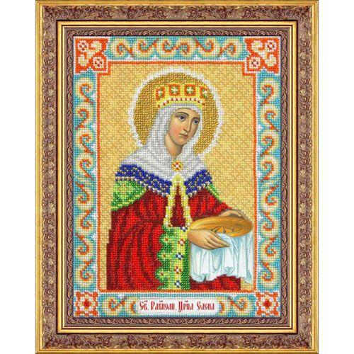 Б1021 Набор для вышивания бисером 'Паутинка' 'Святая Равноапостольная Царица Елена', 19*25,5 см
