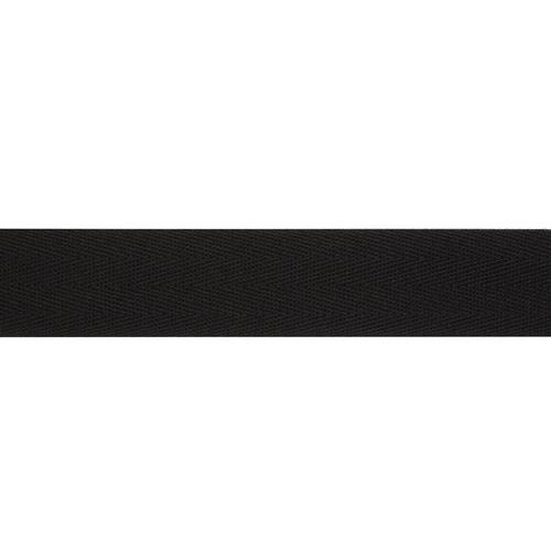 1030Ч Лента киперная х/б 30мм*50м, черная