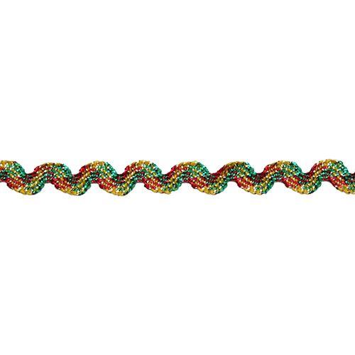С3619 Тесьма-вьюнчик 'Радуга', 4 мм*20 м