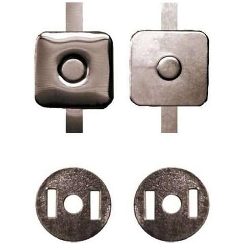 Кнопка магнитная 18мм квадр. 0326-1020