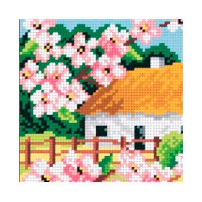 5009 ORCHIDEA Набор для вышивания 13,5х13,5 см