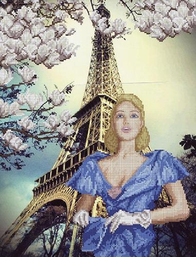 11013 Набор для вышивания Краса и творчество 'Сказочный город' 30,5*40 см