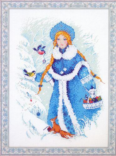 1415 Набор для вышивания Riolis 'Снегурочка', 22*31 см