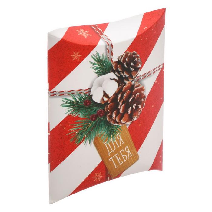 3573428 Коробка сборная фигурная «Для тебя в Новый год», 11 × 8 × 2 см