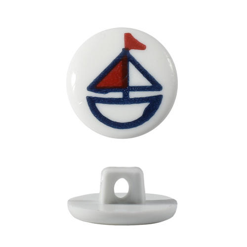 Пуговица, Кораблик (QN102-W1)
