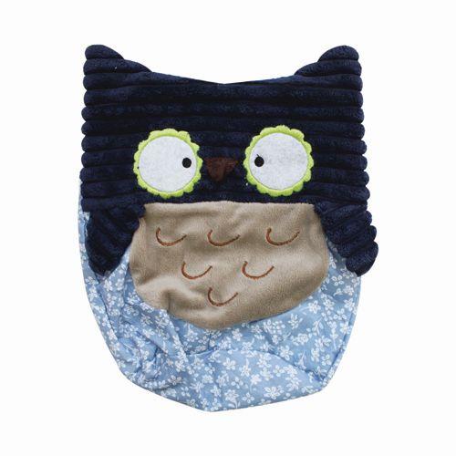 04640-1 Набор для изготовления мягкой игрушки 'Сова', синий цв., 25см Glorex