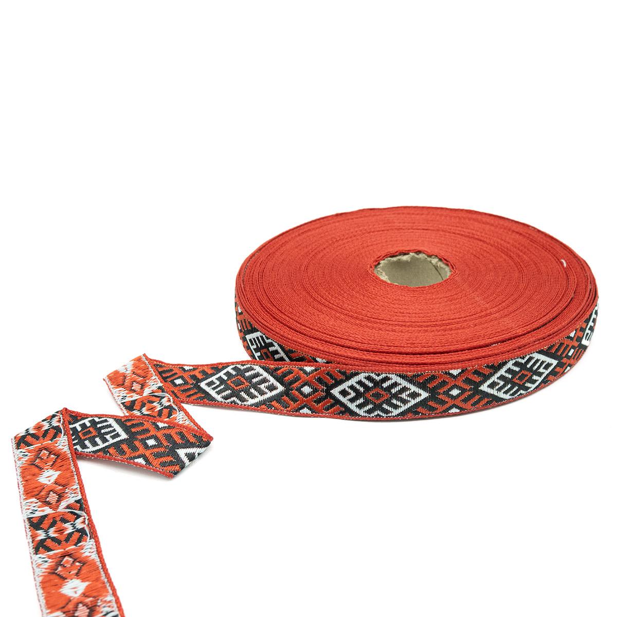 С3771Г17 Лента 'Славянский орнамент Оберег', рис.9227 18мм*25м