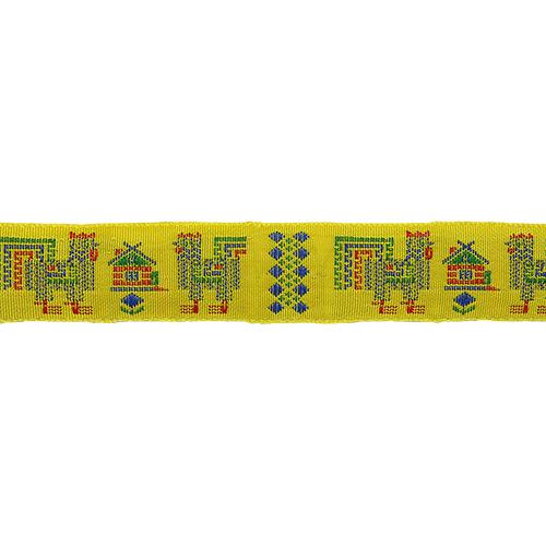 С3772Г17 Лента 'Славянский орнамент Оберег', рис.6627 24мм*25м