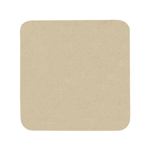 SCB271058 Заготовка из папье-маше Подставка под чашку 'Квадрат', 9.4x9.4см, 10шт