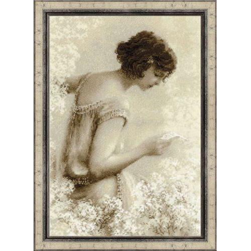 1277 Набор для вышивания Riolis 'Старая фотография. Письмо', 26*38 см