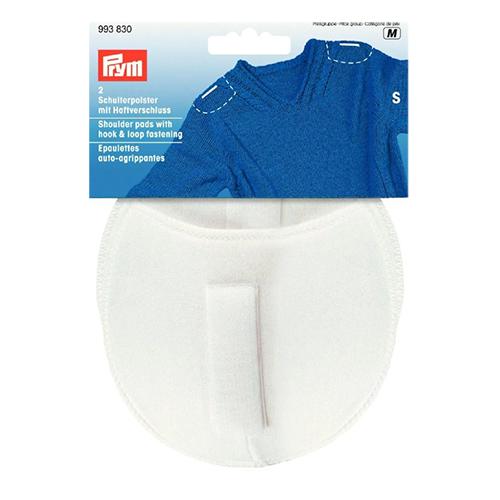 993830 Плечевые накладки с липучкой (S), реглан, белый, 110*100*11 мм, упак./5 пар, Prym