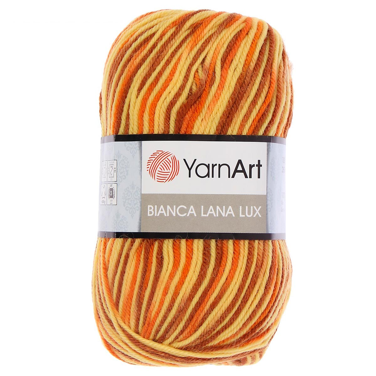 Пряжа YarnArt 'Bianca' 100гр. 240м (100%шерсть)