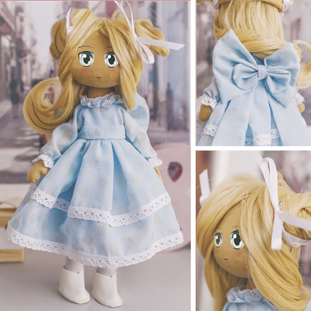 5426808 Интерьерная кукла 'Банни',набор для шитья 21*0,5*29,7 см