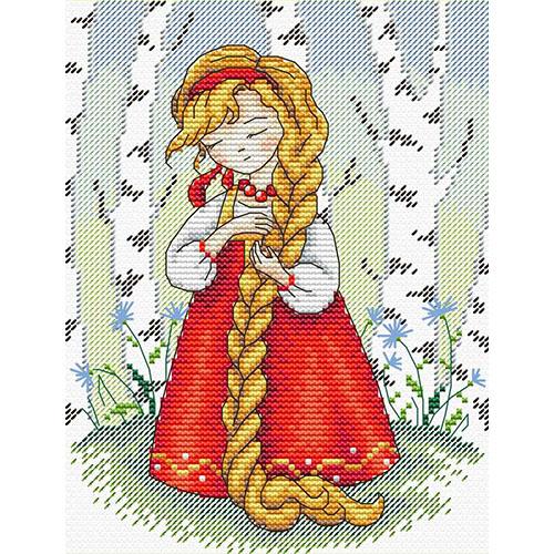 М-182 Набор для вышивания МП Студия 'Красна девица' 18*14см