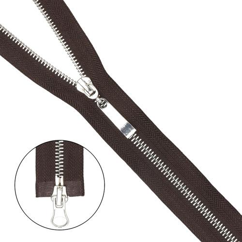 Молния металл-никель разъемная(2 зам.,Т5) -100см