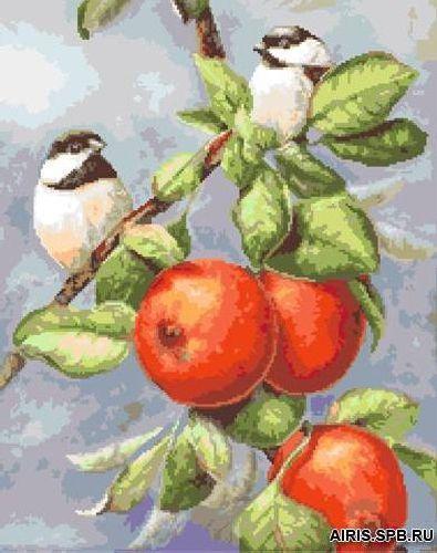 G-1128 Набор для вышивания 'Гобелен Классик' 'Маленькие птички 1', 21х26,4 см