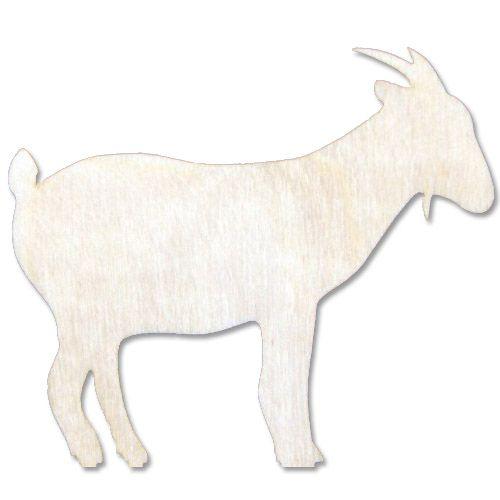 L-154 Деревянная заготовка 'Коза', 15*13 см, 'Астра'