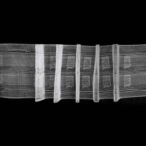 6125-SD Тесьма шторная 1/2,5 6см*100м