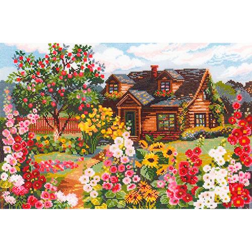 978 Набор для вышивания Riolis 'Цветущий сад', 38*26 см