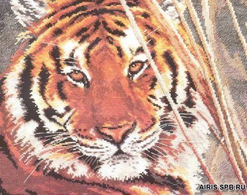 1-08 Набор для вышивания АЛИСА 'Тигр' 35*28см