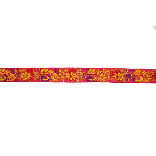 1354 Тесьма жаккард 'Цветочный узор' 2см*10м (9,14м)