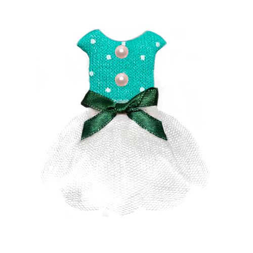 Г14839 Декоративное платье 70*40 мм