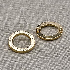 Пуговица металл ПМ42 золото, 2135001250111