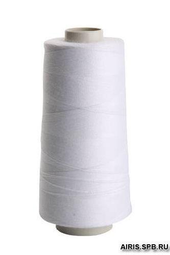 Нитки 100ЛЛ (1000м.) белые