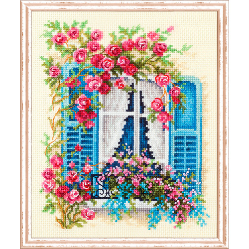74-01 Набор для вышивания Чудесная игла 'С видом на море' 16*21см