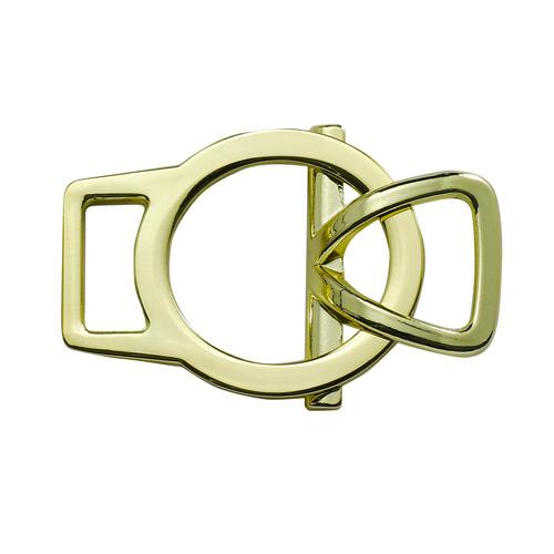 62422 Пряжка-застежка 14мм зол.мет. с кольцом