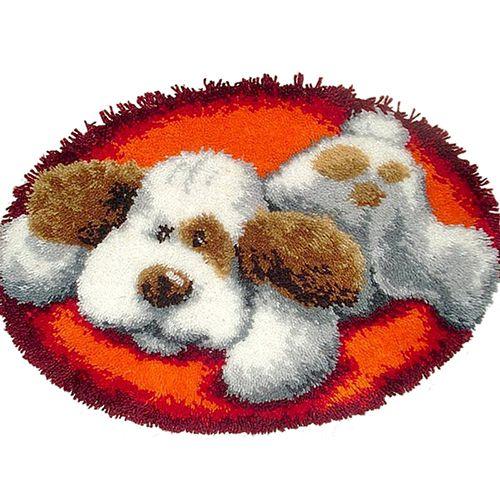 0014353-PN Коврик (ковровая техника) Vervaco 'Собака' 70x50 см