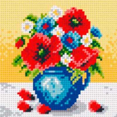 5005 ORCHIDEA Набор для вышивания 13,5х13,5 см