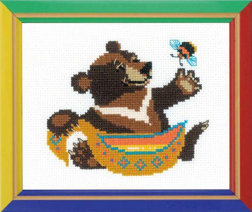 НВ-150 Набор для вышивания Riolis 'Гималайский мед', 16*13 см