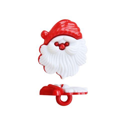 48036 Пуговица 'Дед Мороз', 21 мм