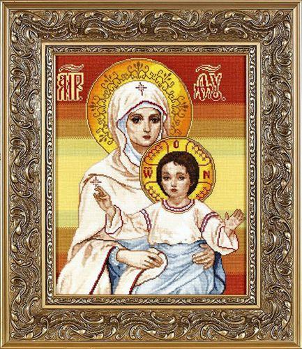 1064 Набор для вышивания Alisena 'Венчальная пара Казанская', 29*36 см