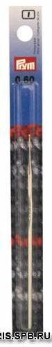 175851 Крючок IMRA для тонкой пряжи без ручки, сталь, с направляющей площадью 0,6мм Prym