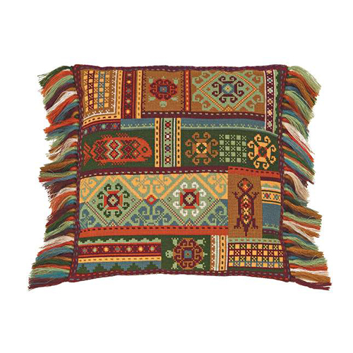 1483 Набор для вышивания Riolis 'Подушка 'Терра', 40*40 см
