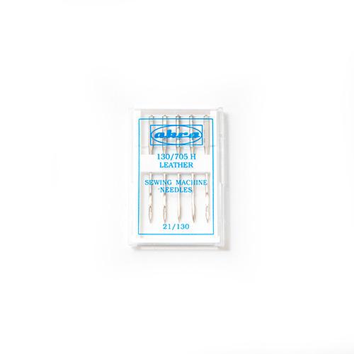 Иглы АКРА для быт./шв. маш. для кожи №130 ( 5игл)