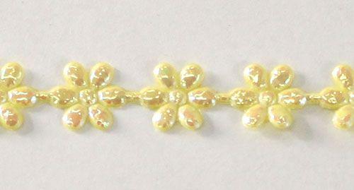 SPR-005 Лента фигурная 'Цветочки', 8 мм*25 м