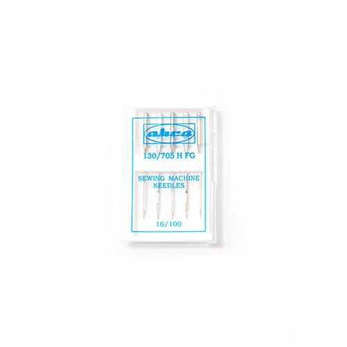 Иглы АКРА для быт./шв. маш. для лайкры и синтетики FG №100 (5игл)
