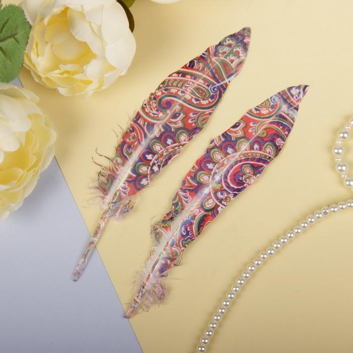 2057930 Набор перьев для декора 2 шт
