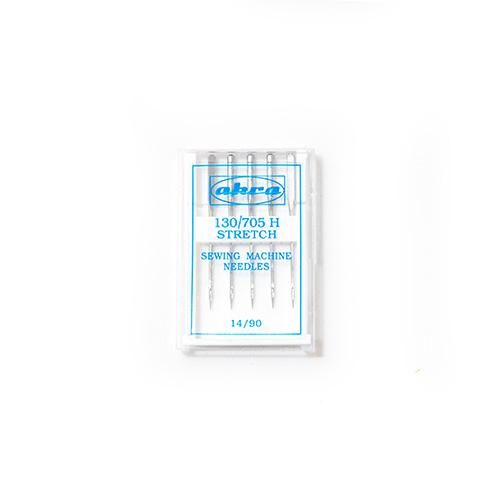 Иглы АКРА для быт./шв. маш. для трикотажа № 90 ( 5игл)