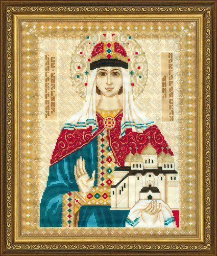 1454 Набор для вышивания Riolis 'Св. Анна Новгородская', 29*35 см