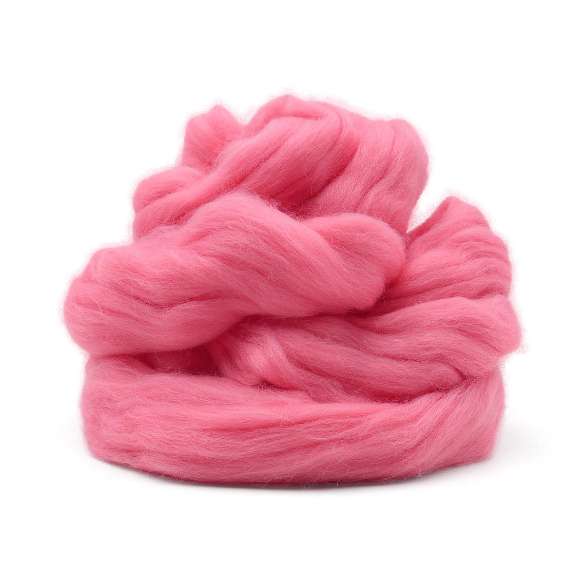 Шерсть для валяния мериносовая тонкая 100%, 100 гр.