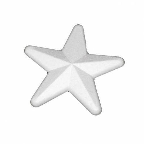 Заготовка для декорирования из пенопласта 'Звезда', 10см